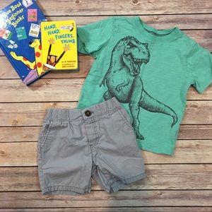 Size 4T Carter's Toddler Boys T-Shirt & Short Set